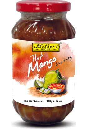 Mother's Recipe Hot Mango Chutney 340 gr