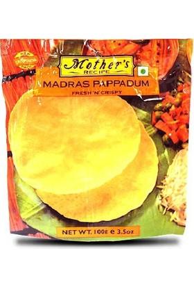 Mother's Recipe Papadums Mercimek Unu Ekmeği 100 gr