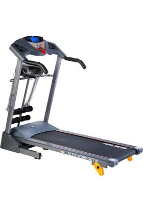 Hattrick Workout M 2,5 Hp Masajlı Ve Manuel Eğimli Koşu Bandı
