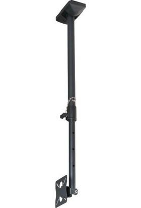 """Electroon 10""""-27"""" Hareketli Lcd-Led Tv-Monitör Tavan Askı Aparatı 60-100Cm Ayarlanabilir"""