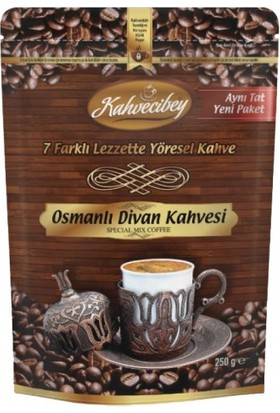 Kahvecibey Osmanlı Divan Kahvesi 6 + 1 Karışım 250 gr