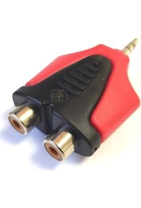 Roxtone Rx-J350 1X3,5Mm Stereo Erkek - 2Xrca Dişi