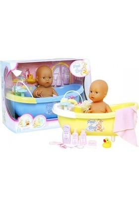 Küvetli Aksesuarlı Bebek Seti