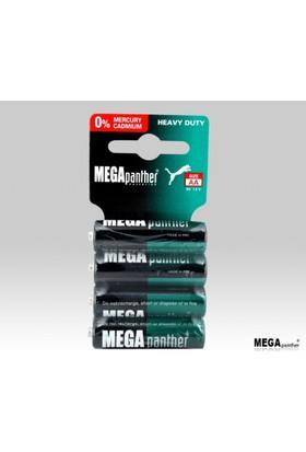 Mega Panther R6P Kalem Pil 4Lü