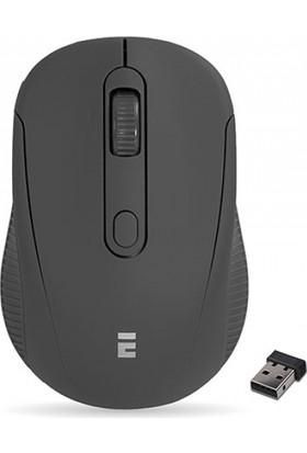 Everest Sm-300 Usb Siyah 4D Optik Süper Sessiz Alkalin Pil Kablosuz Mouse