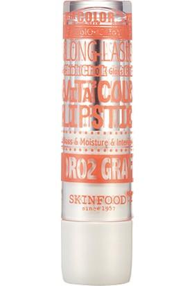 Skinfood Vita Color Lipstick Islak Görünümlü Ruj (or02) (Greyfurt) 4.5g