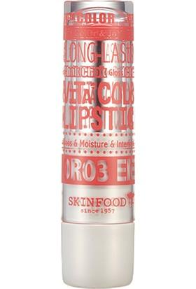 Skinfood Vita Color Lipstick Islak Görünümlü Ruj (or03) (Mercan Kırmızısı) 4.5g