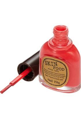 Skinfood Nail Vita Hızlı Kuruyan Dayanıklı Oje (re0108) 13ml