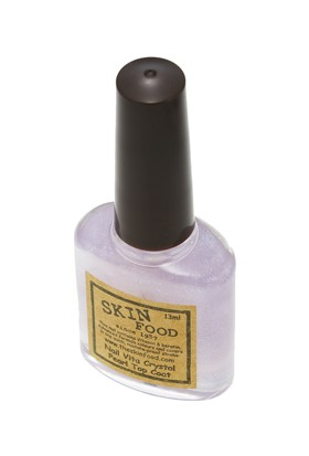 Skinfood Nail Vita Oje Parlatıcı ve Koruyucu (Kristal İnci) 13ml