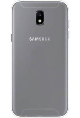 Samsung Galaxy J5 Pro 2017 Kılıf 2 mm Silikon Arka Kapak Şeffaf