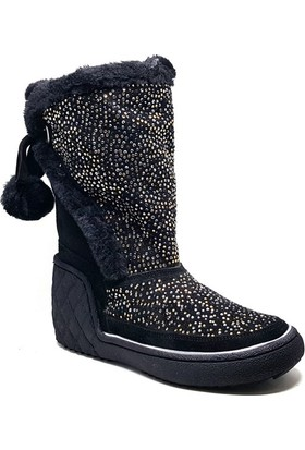 Shop and Shoes Bayan Bot Siyah Süet 121-1709701