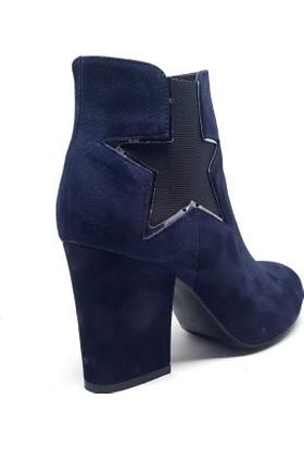Shop and Shoes 173-2504 Mavi Bayan Bot