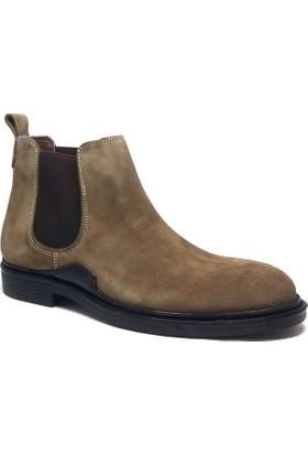 Shop and Shoes Erkek Bot Haki Süet 101-0115