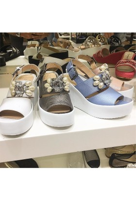 Shop and Shoes Bayan Sandalet 122-158