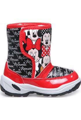 Minnie Mouse Kız Çocuk Bot Siyah Londi