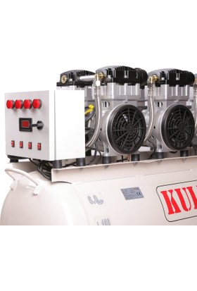Kuletaş 160 Litre Sessiz Kompresör 64 Hp (Yağsız)Panolu