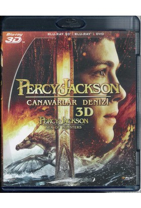 Percy Jackson: Canavarlar Denizi (Percy Jackson Sea Of Monsters) 3D Blu-Ray