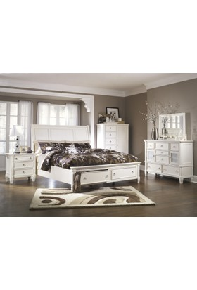Ashley Furniture Prentice 180'lik Yatak