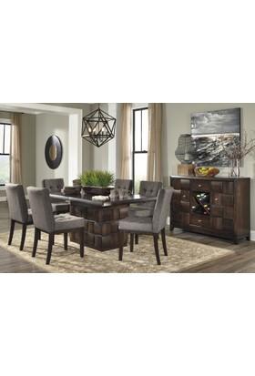 Ashley Furniture Chanella Açılır Yemek Masası