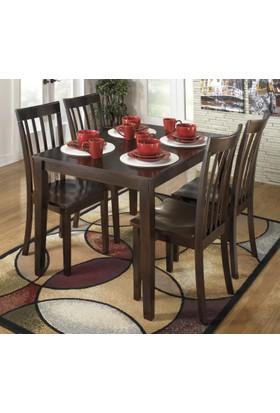 Ashley Furniture Hyland Yemek Masası Seti (4 Sandalye)