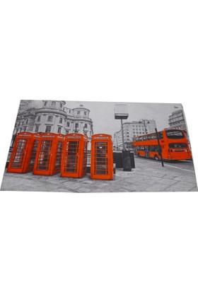 Bahat Dijital Baskılı Kapı Önü Paspası Kauçuk Tabanlı 40*70 cm