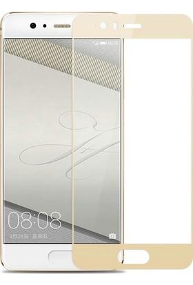 Sonmodashop Huawei P10 3D Tam Ekran Koruyucu Cam Full Ekran
