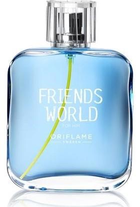 Oriflame Erkek Parfümü Friends World For Him Edt-75 Ml