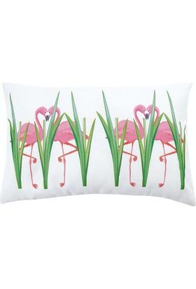 Ayça Ak özel tasarım flamingo kırlent