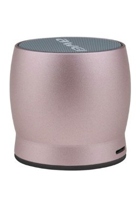 Awei Kablosuz Bluetooth Mini Metal Hoparlör Y500 - Pembe