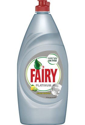 Fairy Platinum Sıvı Bulaşık Deterjanı Limon 870 ml