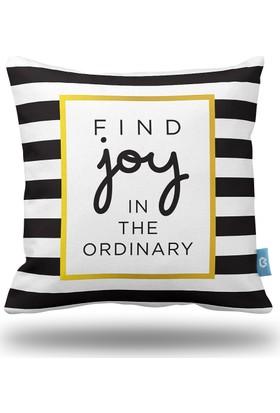 Bc Home Find Joy Dekoratif Yastık / Kırlent Kılıfı