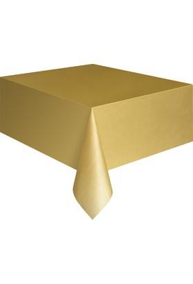 Kikajoy Plastik Masa Örtüsü Altın
