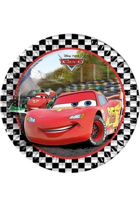 Disney 16 Kişilik Cars Arabalar Parti Seti + İsimli Afiş
