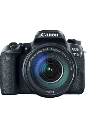 Canon Eos 77D 18-135mm IS USM Nano Lens Kit