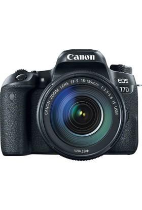 Canon Eos 77D 18-135mm IS USM Nano Lens Kit + 16Gb Kart + Çanta
