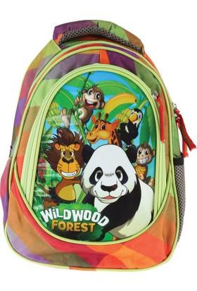 Erdem Çanta Panda Wildwood Simli Anaokulu Çantası