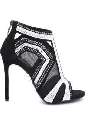 Rouge Kadın Topuklu Ayakkabı Siyah 171RGK693 7285
