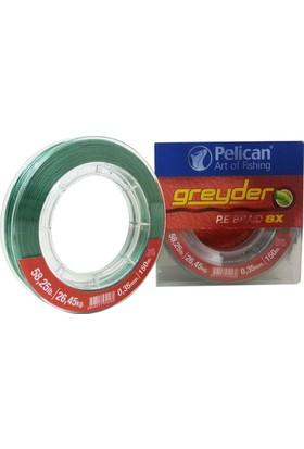 Pelican Greyder 035 8 Kat İp Misina 150 M