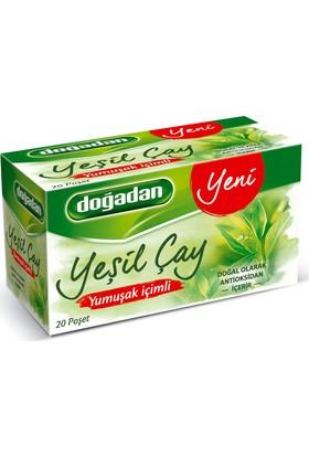 Doğadan Yeşil Çay Yumuşak İçimli