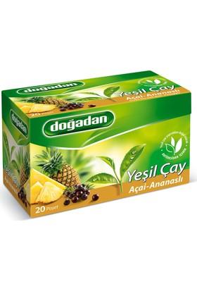 Doğadan Yeşil Çay Açai - Ananaslı