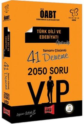 Yargı Yayınları Öabt Değişim Serisi Vıp Türk Dili Ve Edebiyatı Öğretmenliği Tamamı Çözümlü 41 Deneme