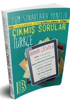 Benim Hocam Yayınları Tüm Sınavlara Yönelik Tamamı Çözümlü Türkçe Çıkmış Sorular