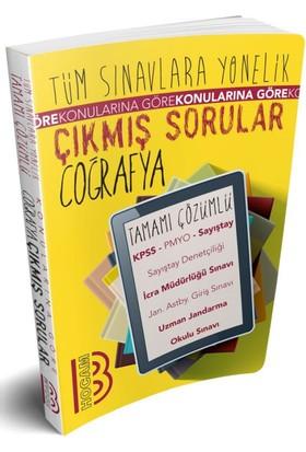 Benim Hocam Yayınları Tüm Sınavlara Yönelik Tamamı Çözümlü Coğrafya Çıkmış Sorular
