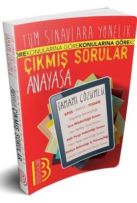 Benim Hocam Yayınları Tüm Sınavlara Yönelik Tamamı Çözümlü Anayasa Çıkmış Sorular