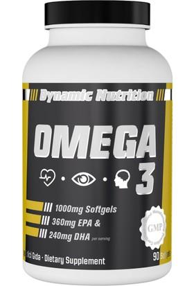 Dynamic Nutrition Omega 3 90 yumuşak kapsül