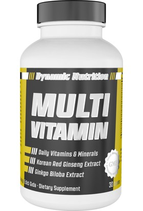 Dynamic Nutrition Multivitamin 30 tablet