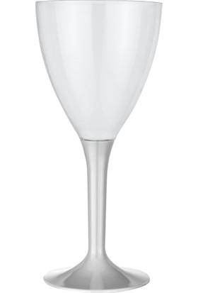 PartiBulutu Gri Şarap Bardağı 10'lu