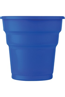 PartiBulutu Lacivert Plastik Meşrubat Bardağı 25'li