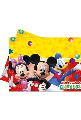 PartiBulutu Mickey Playful Plastik Masa Örtüsü 120x180cm
