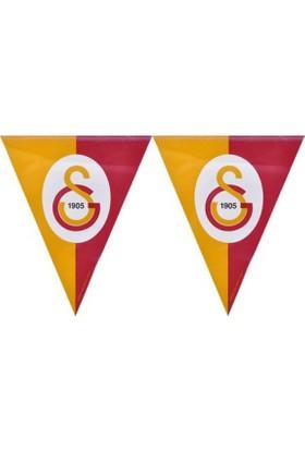 PartiBulutu Galatasaray Üçgen Bayrak Set